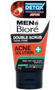 Sabonete Facial Masculino Non Scrub Facial Foam Oil Buster Acne Action - Biore