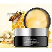 Tratamento Honey Luminous Royal Propolis Eye Patch Black - JM Solution
