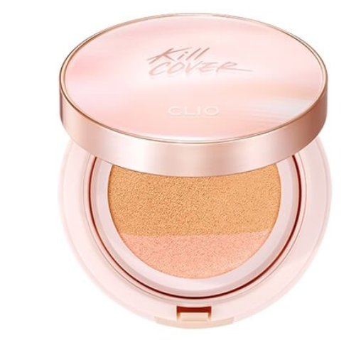BB Cream Kill Cover Pink Glow Cream Cushion - Clio
