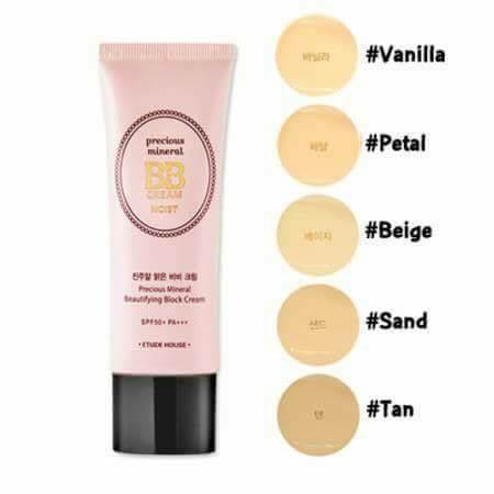 BB Cream  Precious Mineral BB Cream Moist SPF50+ PA+++  - Etude House