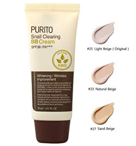 BB Cream Snail Clearing - Purito