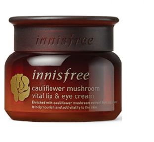 Creme de Olhos Cauliflower Mushroom Vital Lip & Eye Cream - Innisfree