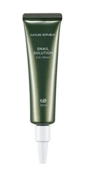 Creme de Olhos Snail Solution Eye Cream - Nature Republic