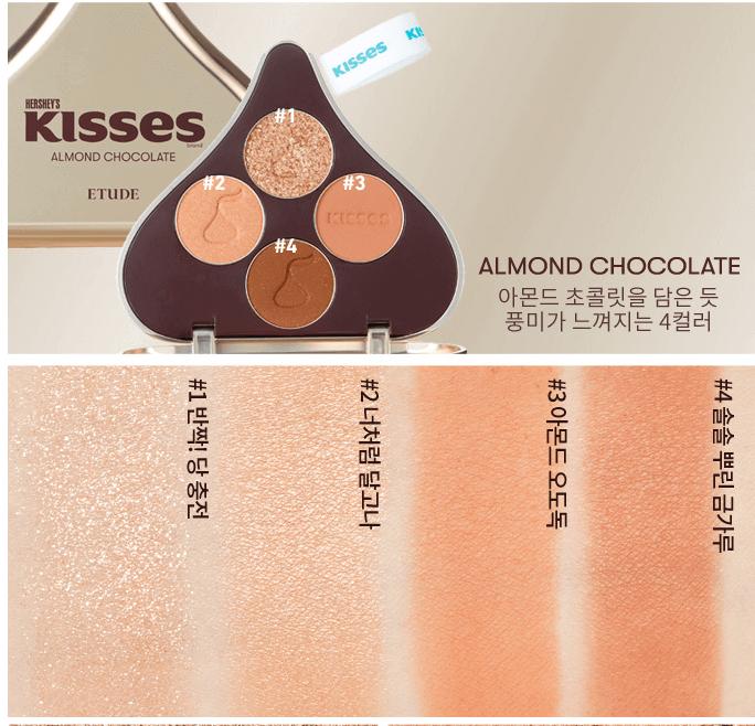 Edição Limitada Play Color Eyes Hershey Kisses Big Kit - Etude House