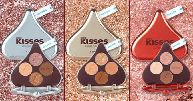 Edição Limitada Play Color Eyes Hershey Kisses Pouch Kit - Etude House
