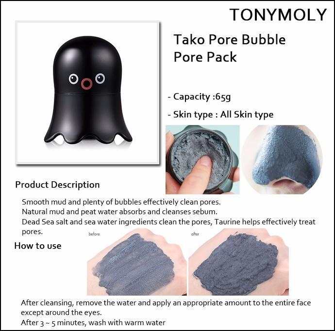 Esfoliante Tako Pore Bubble - Tony Moly