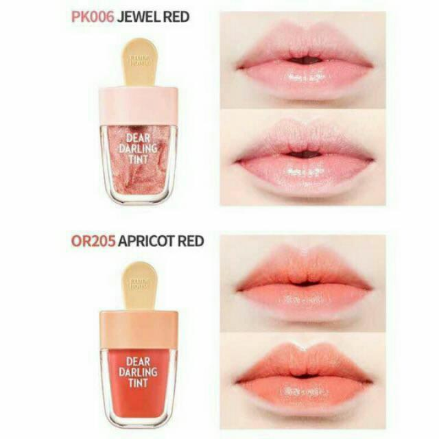 Gloss Dear Darling Gloss Water Gel Tint Icecream - Etude House