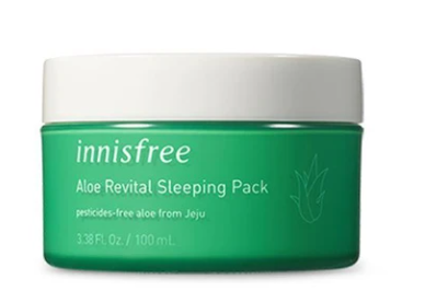 Hidratante Aloe Revital Sleeping Pack - Innisfree