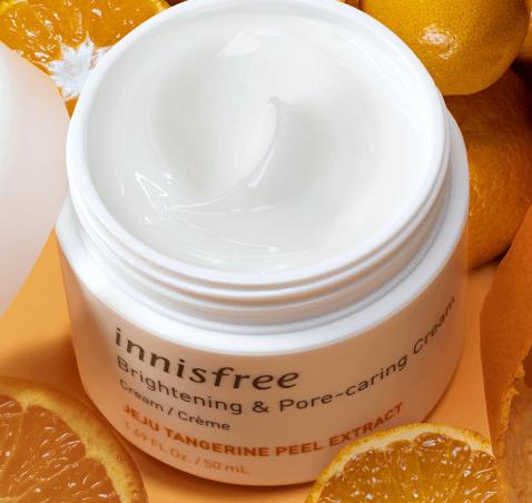 Hidratante Brightening Pore Priming Cream - Innisfree