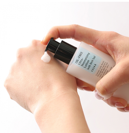 Hidratante Facial  Oil-Free Ultra-Moisturizing Lotion- Cosrx