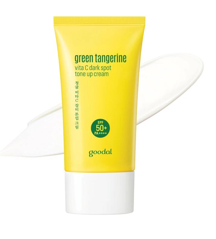 Hidratante Green Tangerine Vita C Dark Spot Tone Up Cream - Goodal