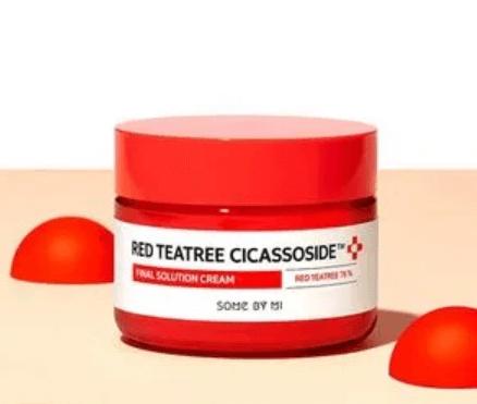 Hidratante Red Tea-Tree Cicassoside Final Solution Cream   - Some By Mi