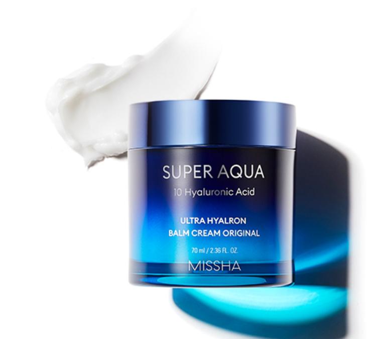 Hidratante Super Aqua Ultra Hyalron Balm Cream Original - Missha