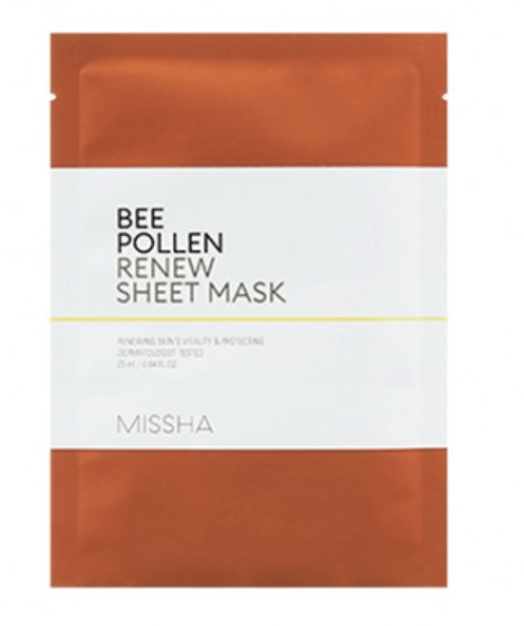 Máscara Bee Pollen Renew Sheet Mask - Missha