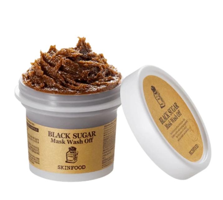 Máscara Black Sugar Mask Wash Off - Skinfood