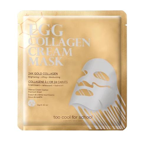 Máscara Egg Collagen Cream Mask - Too Cool for School