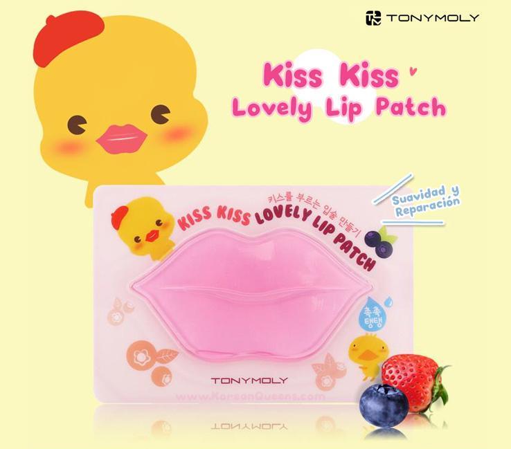 Máscara Labial Kiss Kiss Lovely Lip - Tony Moly