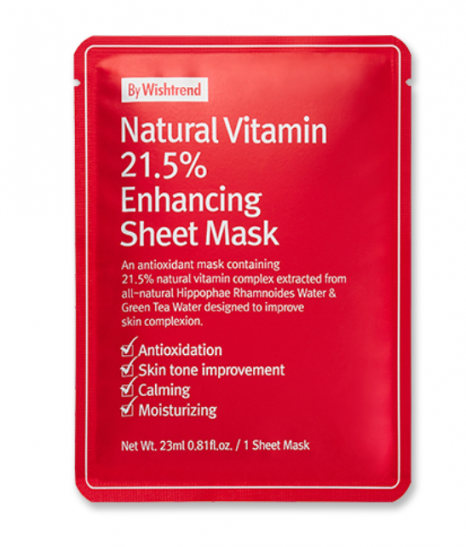 Máscara Natural Vitamin 21.5 Enhancing - By  Wishtrend