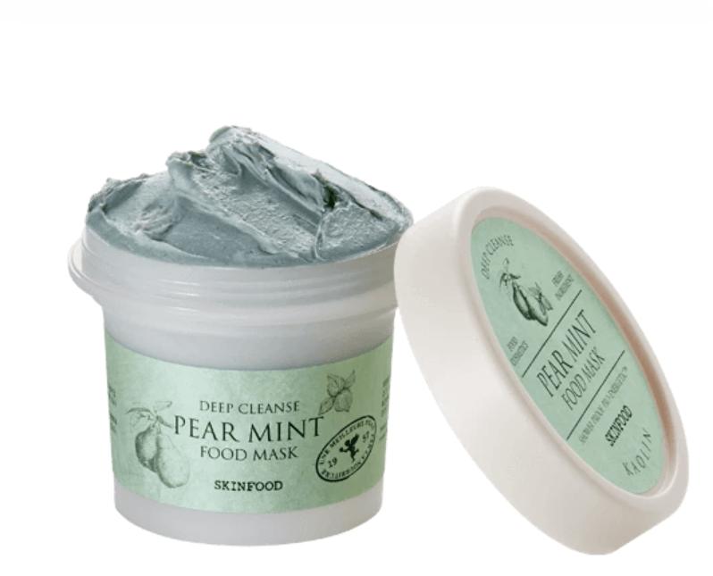 Máscara Pear Mint Food Mask  - Skinfood