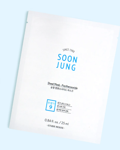 Máscara Soon Jung Panthensoside Sheet - Etude House