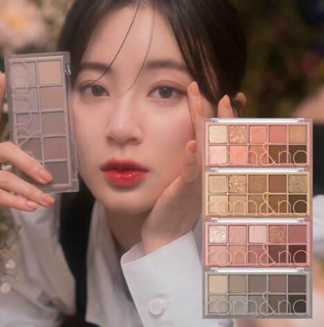Paleta Better Than Palette The Secret Garden 10 Colors - rom&nd