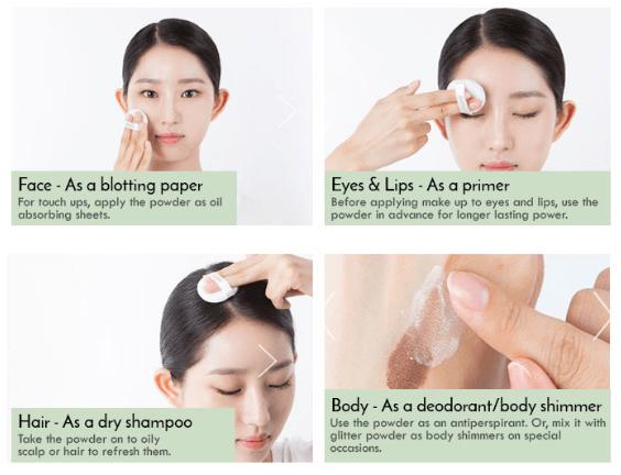 Pó Facial No Sebum Mineral Powder - Innisfree