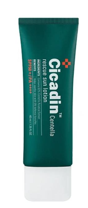 Protetor Cicadin Centella Rescue Sun Lotion - Missha
