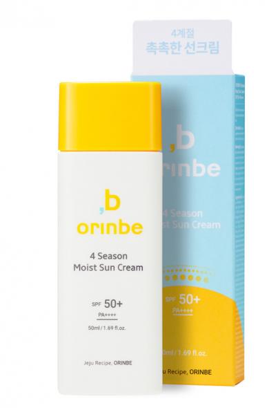 Protetor Four Seasons Moist Sun Cream - Orinbe