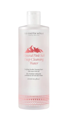 Removedor Mineral Pink Salt Deep Cleansing Water - Too Cool For School