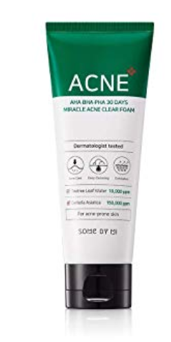 Sabonete  Facial AHA.BHA.PHA 30 Days Miracle Foam - Some By Mi