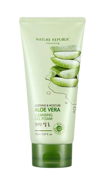 Sabonete Facial Aloe Vera Cleansing - Nature Republic