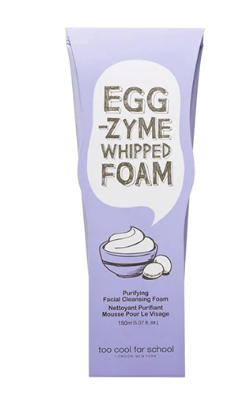 Sabonete Facial Egg-zyme Whipped - Too Cool For School