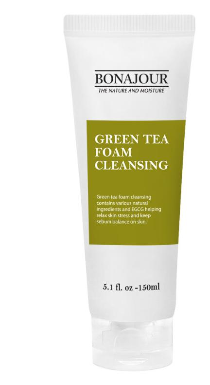 Sabonete Facial Green Tea Foam Cleansing- Bonajour