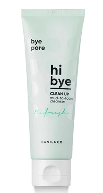Sabonete Facial Hi Bye Clean Up Mud To Foam Cleanser - Banila Co