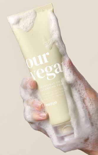 Sabonete Facial Our Vegan Heartleaf Cica Cleansing Foam - Manyo Factory