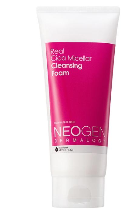 Sabonete Facial Real Cica Micellar Cleansing Foam- Neogen