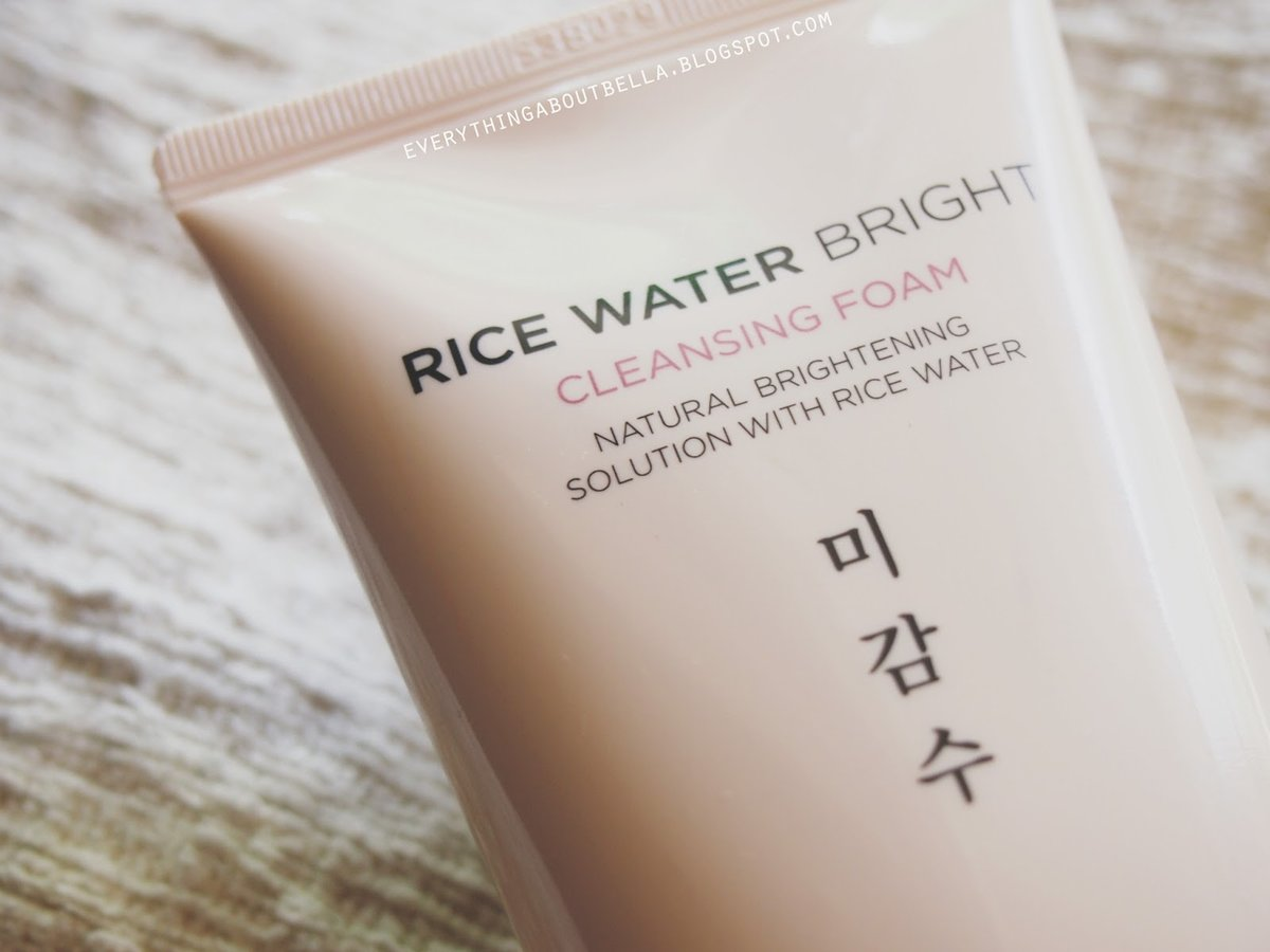 Sabonete Facial Rice Water Bright Cleansing Foam - The Face Shop