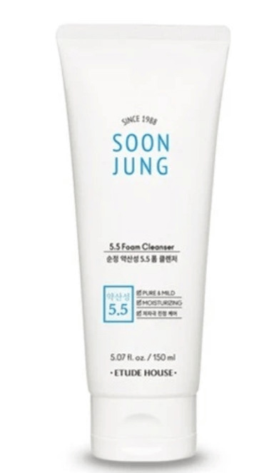 Sabonete Facial Soon Jung 5.5 Foam Cleanser - Etude House