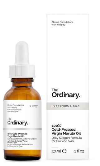 Tratamento 100% Cold-Pressed Virgin Marula Oil - The Ordinary