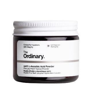 Tratamento 100% L-Ascorbic Acid Powder - The Ordinary