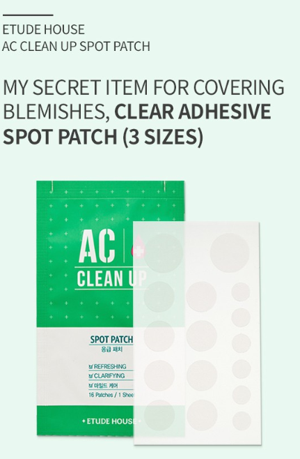 Tratamento AC Clean Up Spot Patch - Etude House