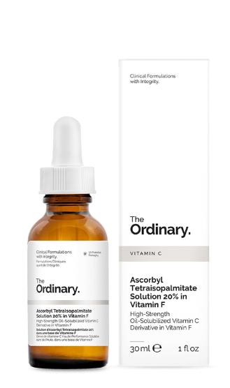 Tratamento Ascorbyl Tetraisopalmitate Solution 20% in Vitamin F - The Ordinary