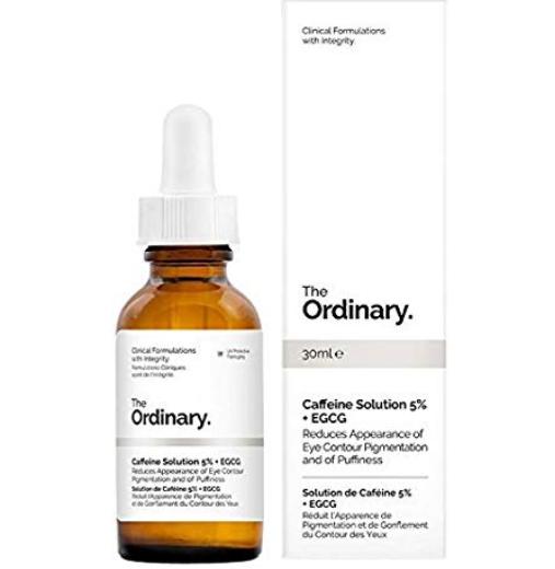 Tratamento Caffeine Solution 5% + EGCG - The Ordinary