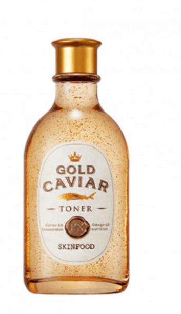 Tratamento Gold Caviar EX Toner - Skinfood