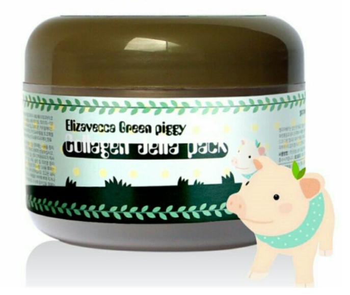 Tratamento Green Piggy Collagen Jella Pack - Elizavecca