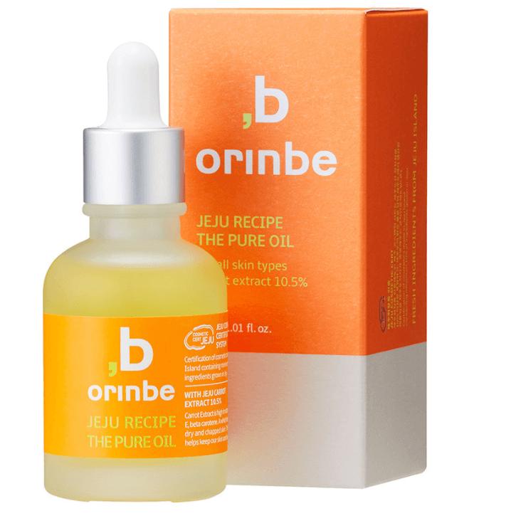 Tratamento Jeju Recipe The Pure Oil (Carrot Oil) - Orinbe