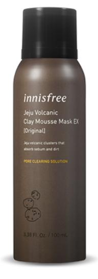 Tratamento jeju Volcanic Clay Mousse Mask EX Original - Innisfree