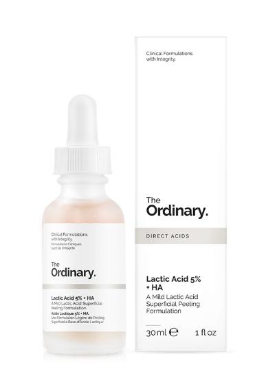 Tratamento Lactic Acid 5% + HA 2% - The Ordinary