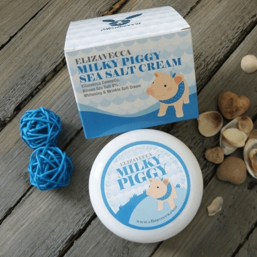 Tratamento  Milky Piggy Sea Salt Cream - Elizavecca