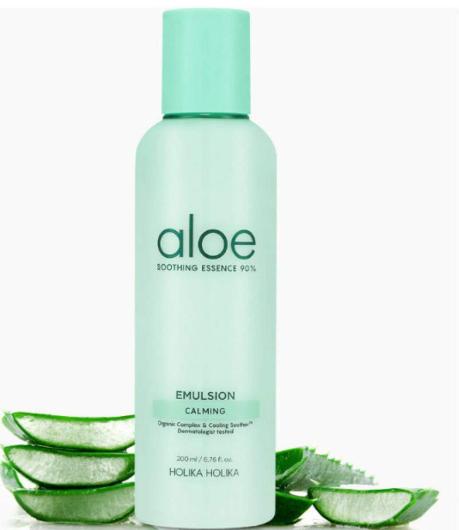 Tratamento Soothing Essence 90% Aloe Emulsion - Holika Holika